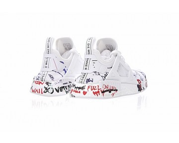 Vetements X Adidas Nmd Boost Xr_1 Ba7766 Creative Graffiti Schuhe Herren