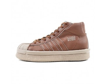 Schuhe adidas X Rick Owens Mastodon Pro Ba9765 Coffee Braun Unisex