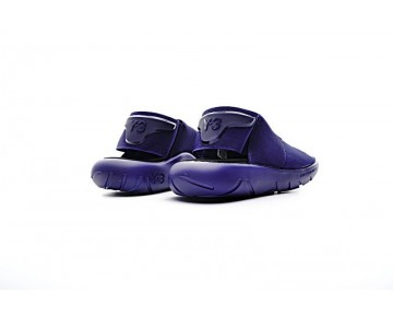 Blau & Purple Unisex Adidas Y-3 Qasa Sandal S82167 Schuhe
