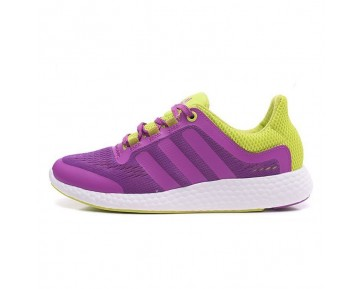 Adidas Pure Boost Chill S81458 Purple Grün Schuhe Damen