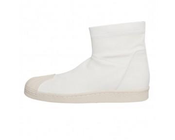 Unisex Schuhe Rick Owens X Adidas Superstar Ankle Boot S82825 Weiß