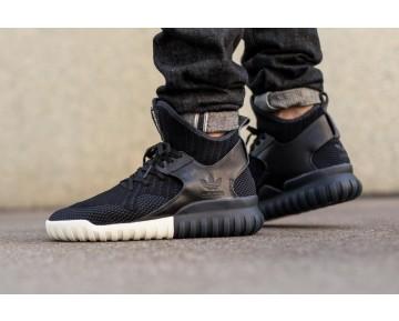 Schuhe Adidas Originals Tubular X Primeknit S81674 Schwarz & Weiß Unisex