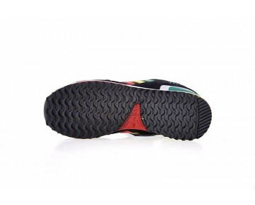 Adidas Originals ZX 750 V20866 Schwarz & Grün & Gelb & Rot & Weiß Schuhe Unisex
