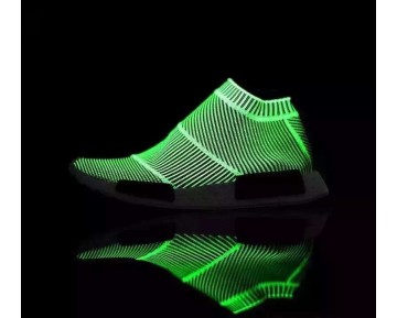 Schuhe Adidas Originals Nmd Mid Sock S79150 Unisex Glow In Dark