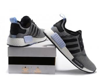 Adidas Nmd_R1 S79159 Core Schwarz/Weiß/Clear Blau Unisex Schuhe