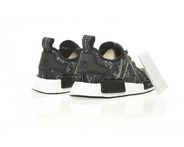 Herren Schwarz L.V X Adidas Nmd R_1 Boost Ba7263 Schuhe