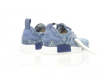 Herren Licht Blau L.V X Adidas Nmd R_1 Boost Ba7257 Schuhe