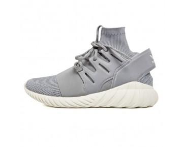 Adidas Tubular Doom Primeknit S74920 Schuhe Medium Solid Grau Unisex