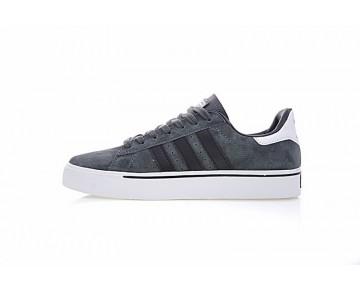Schuhe Dunkel Grau & Schwarz & Weiß Herren Adidas Skateboarding Campus Vulc G24874