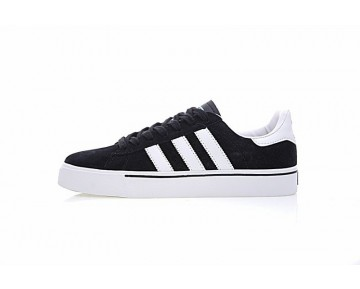 Herren Adidas Skateboarding Campus Vulc G06538 Schuhe Schwarz & Weiß