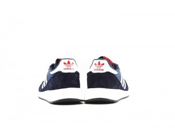 Adidas Originals Zx500 Og Boost S79174 Schuhe Unisex Tief Blau & Rot