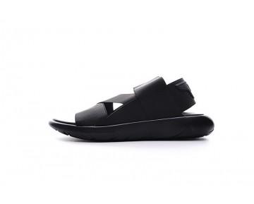 Schwarz Adidas Y-3 Qasa Sandal Aq5584 Unisex