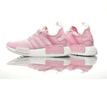 Baby Rosa & Weiß Damen Adidas Nmd R1 W Boost By9953 Schuhe
