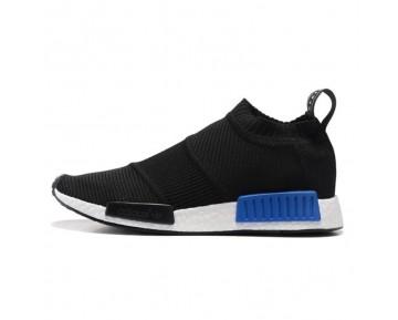 Adidas Originals Nmd Mid Sock S79152 Schwarz & Blau Schuhe Unisex