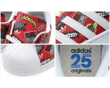Nigo X Adidas Originals Superstar S83388 Schuhe Unisex