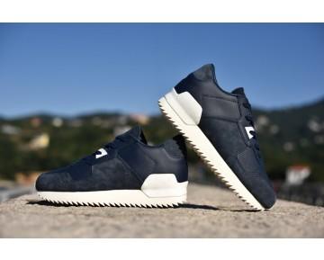 Schuhe Adidas Originals Zx700 RemasteRot S82510 Tief Blau Unisex