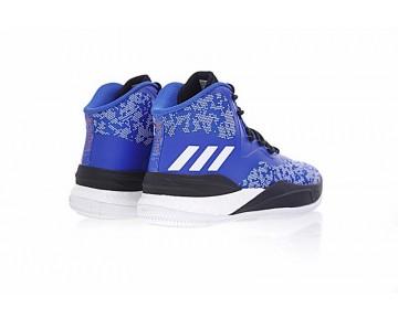 Adidas D Rose 8 Cq0826 Schuhe Blau & Weiß & Schwarz Unisex
