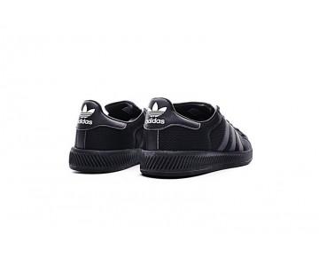 Herren Schwarz Schuhe Adidas Superstar Bounce Bz0096