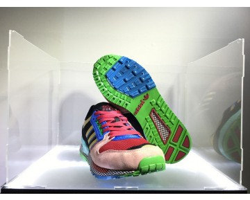 Rosa & Schwarz & Gold Unisex Schuhe Adidas Oddity Questar