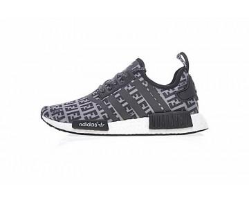 Unisex Schuhe Fendi X Adidas Nmd R_1 Boost Ff Ba7747