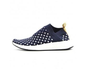 Adidas Nmd City Sock Cs2 Wave Point Ba7211 Tief Blau Unisex Schuhe