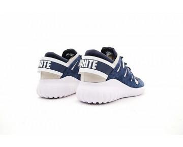 Herren Schuhe Weiß Mountaineering X Adidas Tubular Nova Bb0768 Tief Blau & Weiß