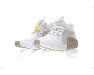 Schuhe Weiß & Braun Herren Adidas Tubular Rise By3555