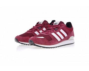 Herren Schuhe Burgund Rot & Weiß Adidas Originals Zx700 B24840
