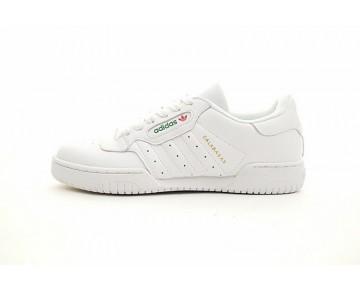 Schuhe Herren Yeezy X Adidas Originals Powerphase Cq1693 Weiß/Weiß-Grün