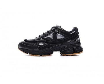 Schuhe Unisex Raf Simons X Adidas Consortium Ozweego Iii S81162 Schwarz & Braun Rabbit