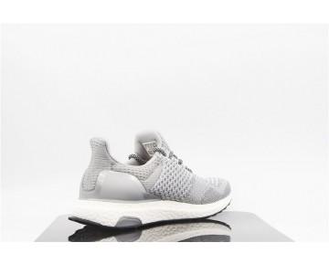 Herren Adidas Consortium Ultra Boost Uncaged Aq8253 Schuhe Silber & Schwarz
