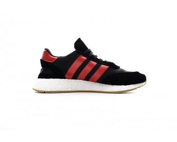 Schwarz & Rot Adidas Iniki Runner Boost S81010 Herren Schuhe