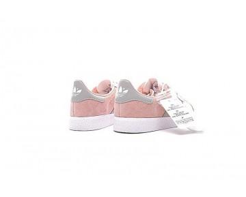 Coral Rosa & Grau & Weiß Adidas Originals Gazelle Ba7656 Damen Schuhe