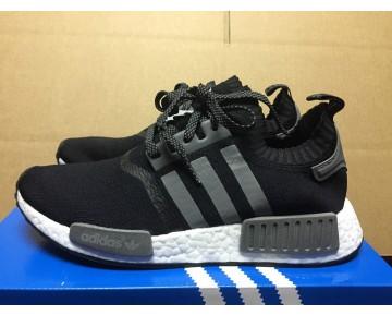Adidas Originals Nmd Runner Pk & Key City Activation S31523 Schwarz & Grau & Silber Schuhe Unisex
