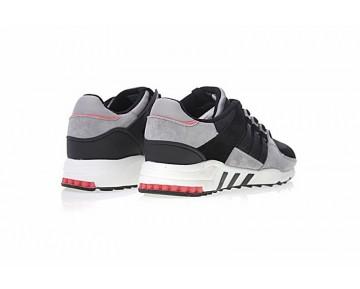Licht Grau & Schwarz & Weiß & Rot Schuhe Adidas Originals Eqt Rf Support S76843 Herren