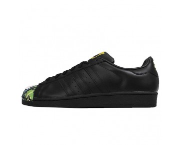 Adidas Originals Superstar Mr. Supershellrtwork Girl Pig Mr S83358 Damen Core Schwarz Schuhe