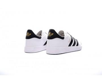 Schuhe Adidas Originals Gazelle Bb5498 Weiß & Schwarz Herren