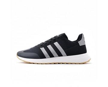 Herren Schuhe Adidas Originals Flashback Breathable Sneakers S78621 Schwarz & Weiß